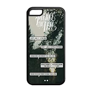 PTV Hard Rubber Cell Cover Case for iPhone 5C,5C Phone Cases hjbrhga1544