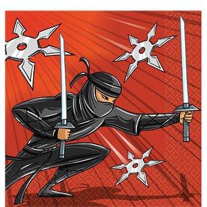 Servilletas de Ninja - 2ply papel (Pack 16): Amazon.es ...