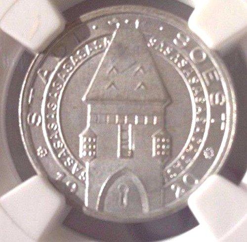 1920 DE 1920 Germany Empire Notgeld Soest Westfalen 25 Pf coin MS 65 NGC