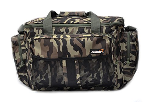 foolsGold Large Insulated Fishing Tackle Holdall Bag - Camouflage