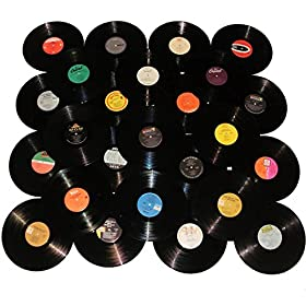 Vinyl Record Lot for Collection Starters Decoration