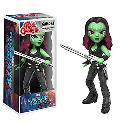 Funko Rock Candy: Guardians of the Galaxy 2 Gamora Toy Figure: Funko Rock Candy:: Toys & Games