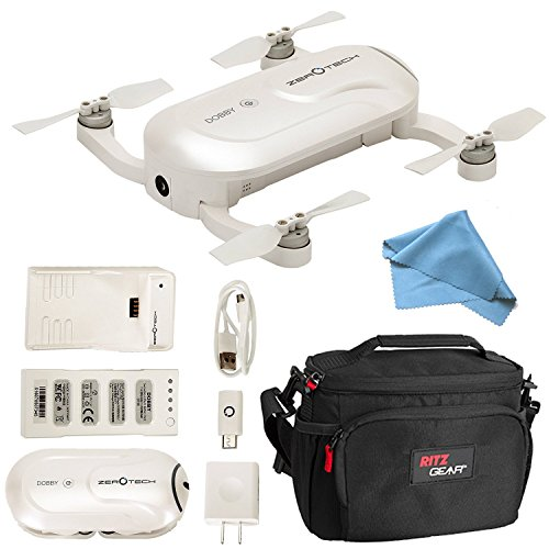 ZEROTECH Dobby Mini Selfie Pocket Drone with...