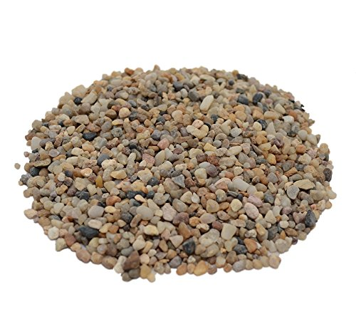 CNZ Aquarium Natural River Gravel, 40 lb. ()