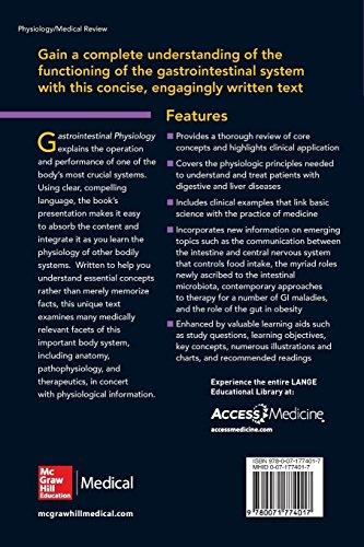 Gastrointestinal Physiology 2/E (Lange Medical Books) - http://medicalbooks.filipinodoctors.org