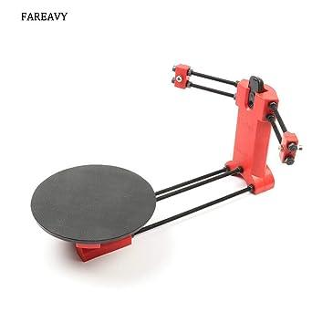 Amazon.com: FAREAVY escáneres 3D de código abierto láser kit ...