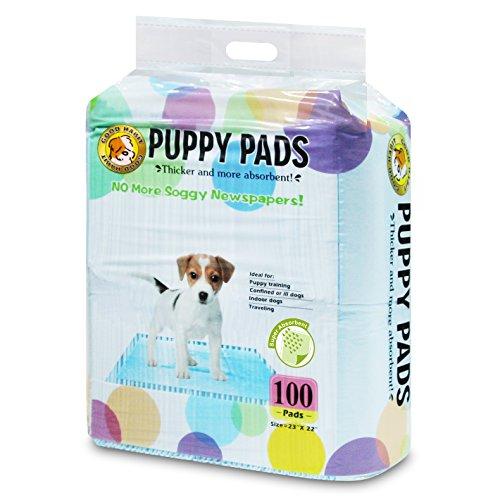Best Pet Supplies Puppy/Training Pads, Blue,