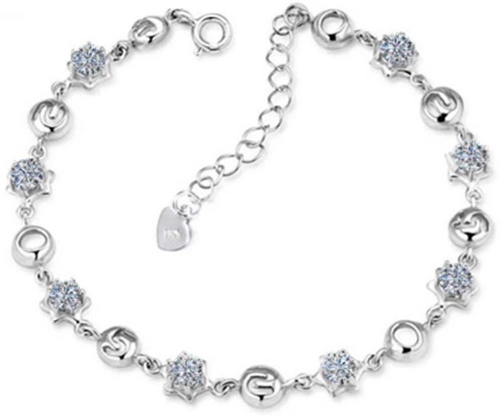 Drawihi Silber-Armband für Damen und Mädchen als Geschenk, S925Modischer Stil, 520 S925Modischer Stil