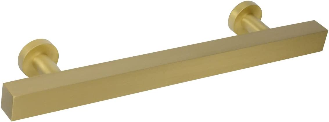 #1700 Ckp Brand Empire Collection 5 In. (128Mm) Solid Brass Leiste Pull, Empire Satin Brass