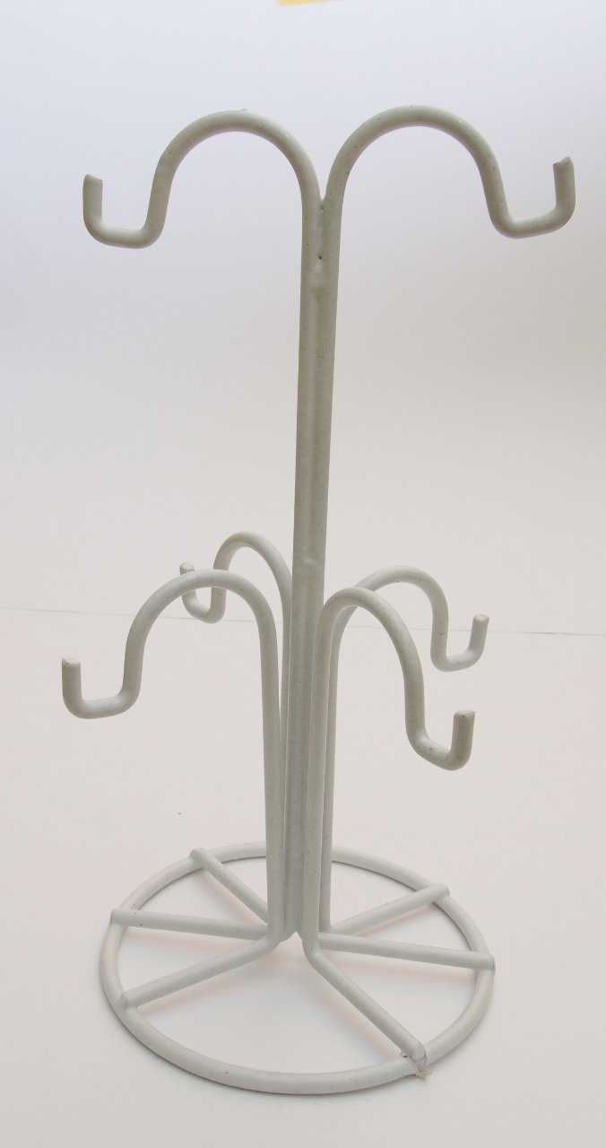 High Quality Freestanding Mug Tree (Chrome) Verdi