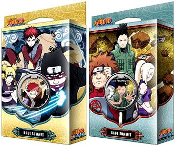 (Naruto TCG Naruto Shippuden Card Game Kage Summit Set of Both Theme Decks [Sibling's Fury & Permapower])