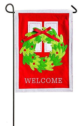 Evergreen Enterprises 64937 Welcome Door Wreath Garden - Grove Garden Outlets