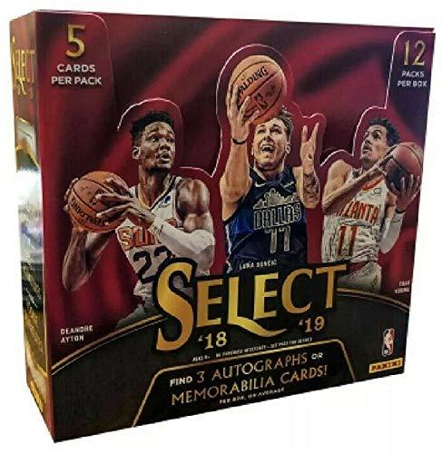 2018/19 Panini Select NBA Basketball HOBBY box (12 - Panini Cards Sports