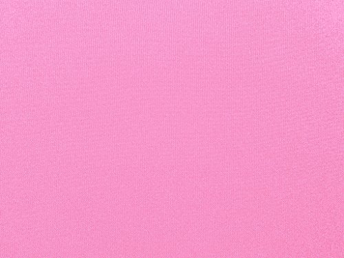 Zen Creative Designs Poly Poplin Gabardine Thick Durable and Soft Fabric 60 Inch Wide / Tablecloth Material / Crafting Quality Fabric / Sewing Friendly (5 Yards, Pink)