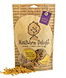Treats for Chickens Mealworm Delight Treat, 8-Ounce