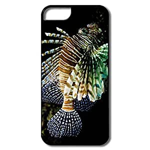 IPhone 5/5S Hard Plastic Cases, Lionfish White/black Cases For IPhone 5 5S
