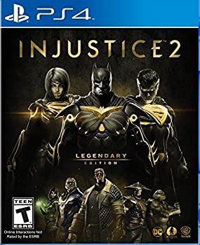 Injustice 2 Legendary Edition Legend Edition for PS4 or Xbox One