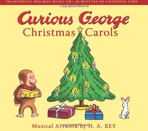 Curious George Christmas Carols Book & CD by HMH Books