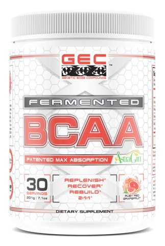 GEC 2:1:1 FERMENTED BCAA MAX ABSORPTION, RUBY RED GRAPEFRUIT (Genetic Edge)