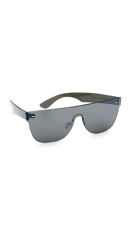 6e22fb5d27 Amazon.com  Super Sunglasses Women s Tuttolente Flat Top Sunglasses ...