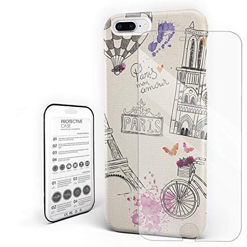 Romantic Paris Theme Valentine's Day Decoration Phone Case