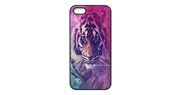 Amazon.com: Tiger Custom Cover Case for Iphone 5,5S,diy ...