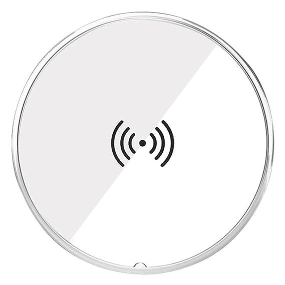 Amazon Com Lanxin Anti Slip Qi Wireless Charging Pad Station For
