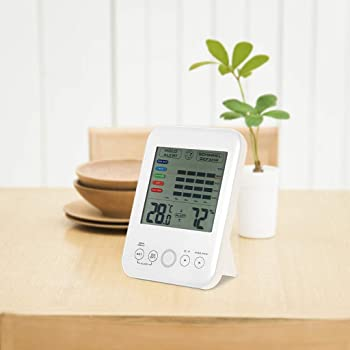 Jesaisque Mold Alarm Digital Hygrometer Thermometer