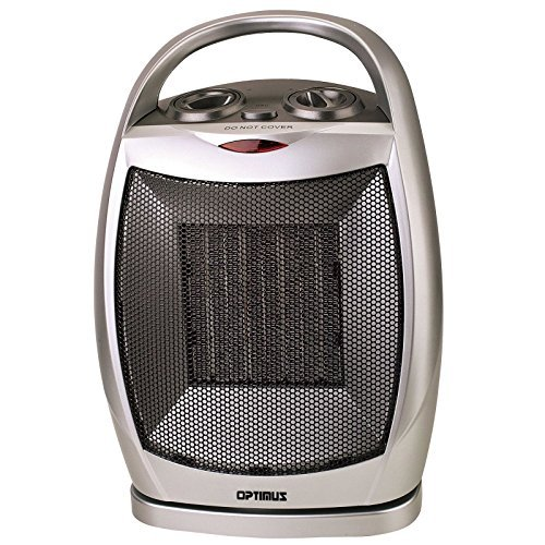 NEW Optimus 750/1500 W Portable Oscillating Ceramic Space Heater with Thermostat / 2 Heat Setting (750 and 1500 Watts) / Tip-over Safety Switch by Optimus | 1500 2 amzn_product_post and By Ceramic Ceramic Heaters Heat Heater NEW Optimus Optimus Oscillating Portable Safety Setting Space Thermostat W Watts with
