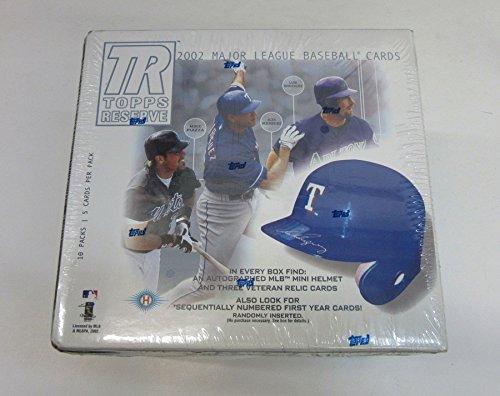2002 Topps Reserve Baseball Box (Hobby)