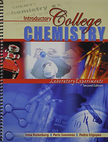Introductory College Chemistry Laboratory Experiments