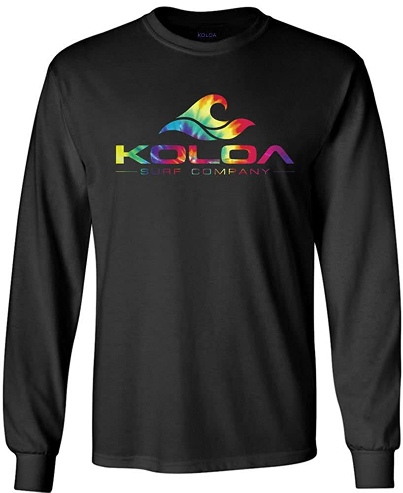 bff6dcae59db Amazon.com: Koloa Surf Long Sleeve Heavyweight Cotton T-Shirts in Regular,  Big and Tall: Clothing