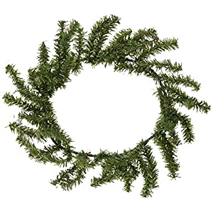 "Darice DS-6263 Holiday Canadian Pine Wreath - 60 Tips - Green - 10"" (1 Pack) 37"