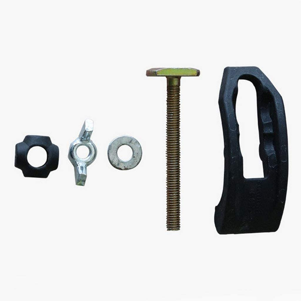 menolana 8x CNC Pressing Plate Clamp Fixture Platen Fastening T-slot Accessories