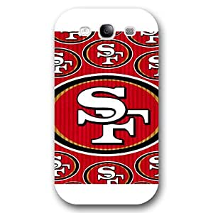 meilz aiaiUniqueBox Customized NFL Series Case for Samsung Galaxy S3, NFL Team San Francisco 49ers Logo Samsung Galaxy S3 Case, Only Fit for Samsung Galaxy S3 (White Frosted Shell)meilz aiai