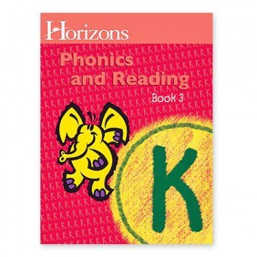 Horizons K Phonics and Reading Book 3 (Lifepac) by Alpha Omega Publications