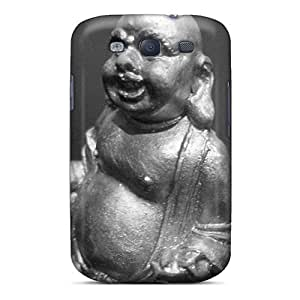 BBQrn2965MSlCj NikRun Awesome Case Cover Compatible With Galaxy S3 - Budda