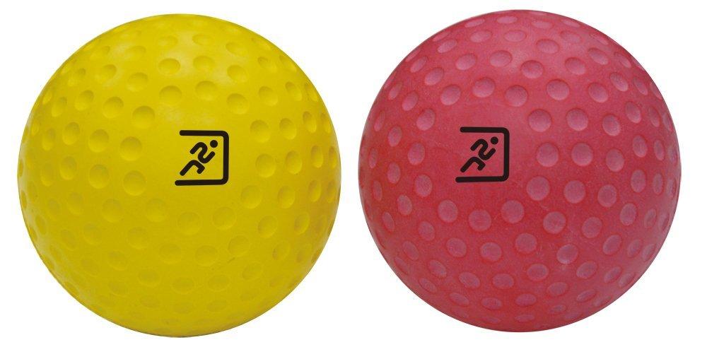 (firme y suave de pelotas resultsport® larcrosse) 7cm–profundidad muscular masaje–masaje de punto de gatillo–Myofasical pelota, pelota de ejercicio