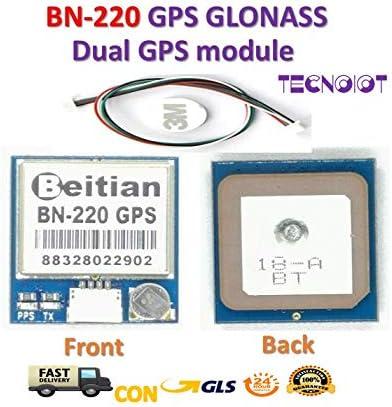 Beitian BN-220 Dual GPS Glonass Module with Flash Passive Antenna |Beitian BN-220 Dual-GPS-Glonass-Modul mit passiver Flash-Antenne