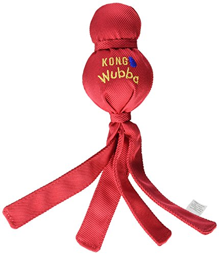 KONG Wubba Dog Toy Large Wubba Assorted Colors by KONG