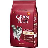 Ração para Gatos Castrados Gran Plus Salmão e Arroz 10,1Kg