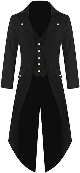 Amazon.com: Chaqueta estilo steampunk victoriano gótico para ...