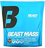 Beast Sports Nutrition Beast Mass - Build Lean Muscle Mass with This High Quality Weight Gainer. Contains 1340 Calories Per Serving with 55 Gms Protein. Very Low Fat and Sugar. 12 Pounds, Chocolate