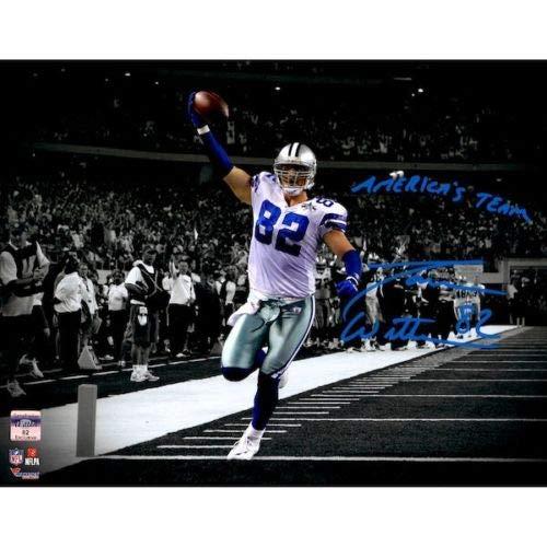 Jason Witten Photograph - JASON WITTEN Autographed Dallas Cowboys 11