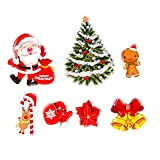 Christmas Sticker Party Balloons Color Set, Balloon Decoration, Quality Latex Balloons for Birthday Wedding Party Home Decoration, Colorful Helium Balloons Make Your Event More Colorful (D)