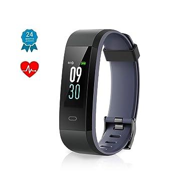 0969527416 Muzili Fitness Armband IP68 Wasserdicht Fitness Tracker Sport Uhr Fitness  Armbanduhr Aktivitätstracker schrittzähler Pulsuhren Smart Watch