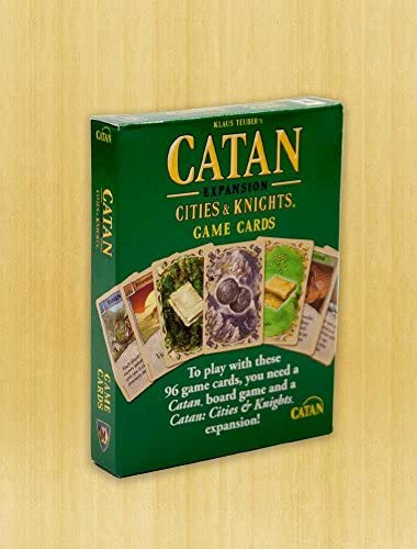 Catan: Cities and Knights Replacement Game Cards: Amazon.es: Juguetes y juegos
