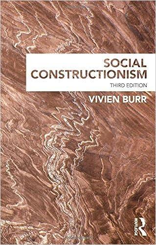 Book Social Constructionism by Vivien Burr (2015-04-21)