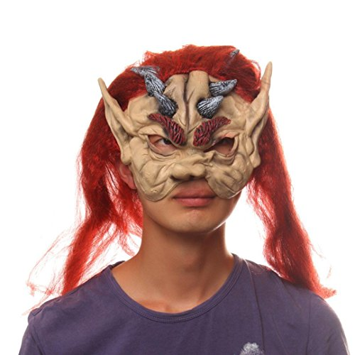 [Dayseventh 2016 Bloody Face Off Horror Halloween Costume Mask Cosplay Costume] (Cool Costumes For Halloween 2016)