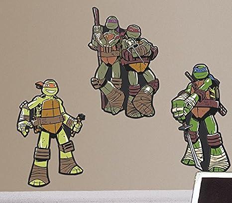 RoomMates Teenage Mutant Ninja Turtles Foam Characters
